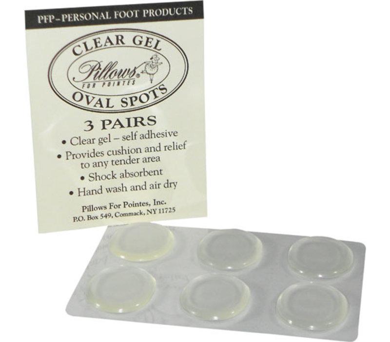 Clear Gel Oval Spots