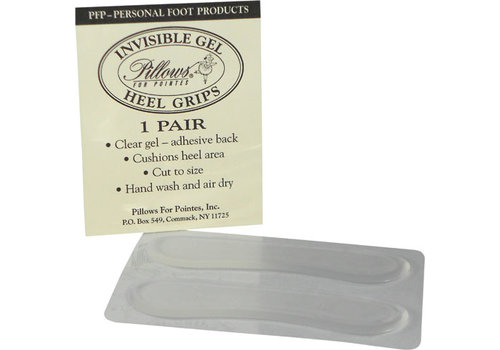 Pillows for Pointe Invisible Gel Heel Grips