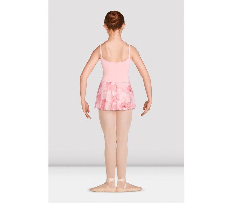 Gather Printed Skirt Cami Leo