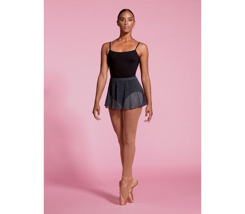 Spliced Lace Skirt