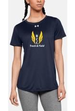 BCC Girl's Short Sleeve Track & Field Shirt