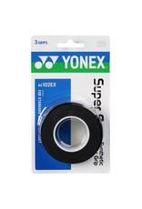 Yonex YONEX SUPER GRAP 3 PACK BLACK