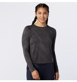 New Balance New Balance Q Speed Fuel Jacquard Long Sleeve