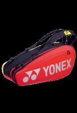 Yonex YONEX PRO RACQUET BAG 6 RED