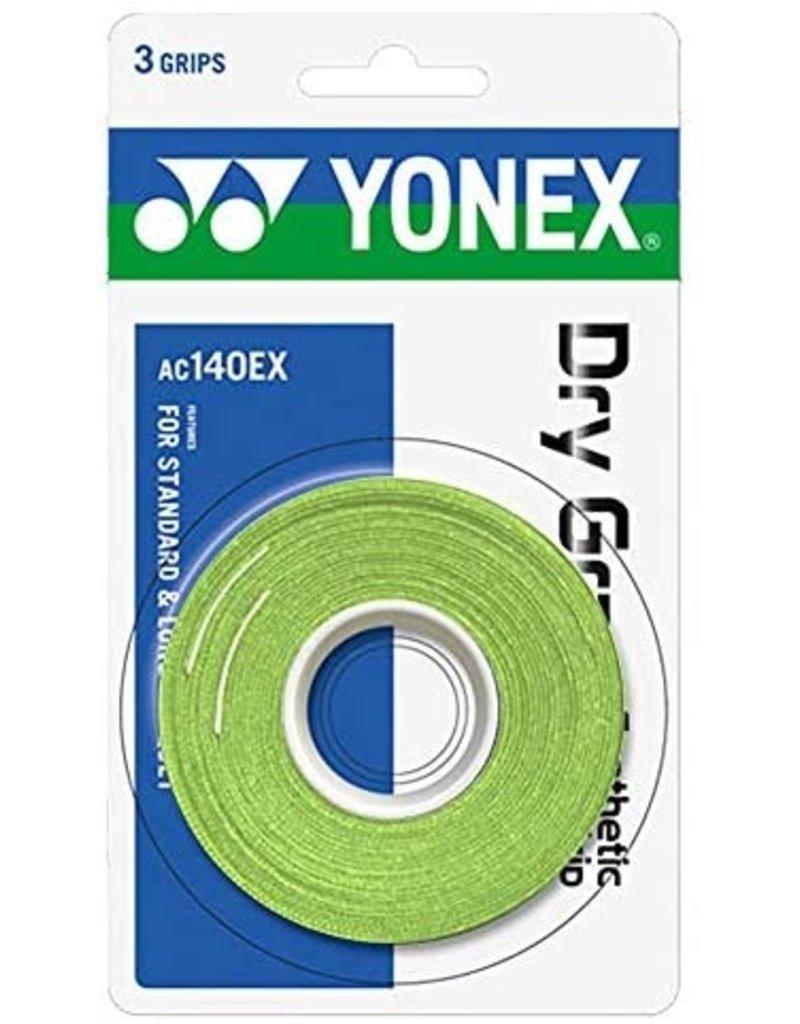 Yonex YONEX SUPER DRY GRAP 3 PACK GREEN