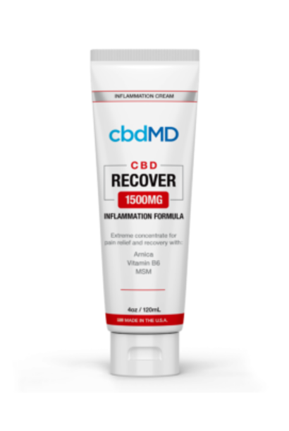 CBD MD Recover Squeeze 1500mg 4 oz