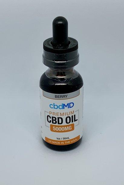 CBD MD Oil 5000mg Berry