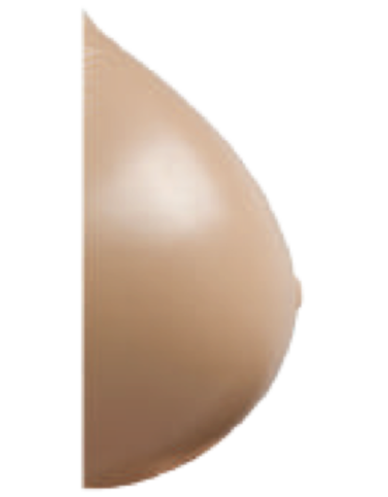 Nearly Me Modified Full Oval Silicone Breast Form 975