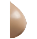 Nearly Me Full Oval Silicone Breast Form 365