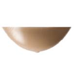 Nearly Me Semi Full Triangle Silicone Breast Form 395