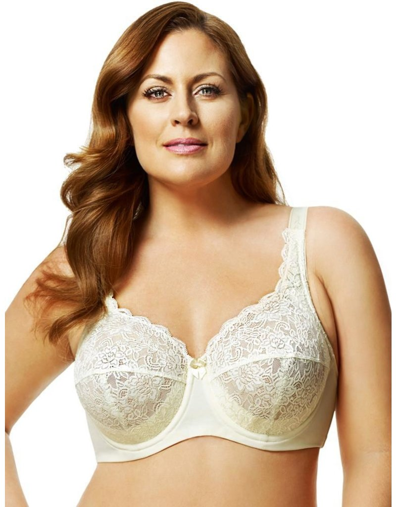 Elila Elila Full Coverage Stretch Lace Underwire Bra 2311