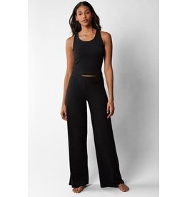 Skarlett Blue Skarlett Blue Wide Leg Lounge Pants 384157 Small - Black