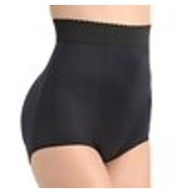 Rago 915 High Waist Padded Panty Large Black