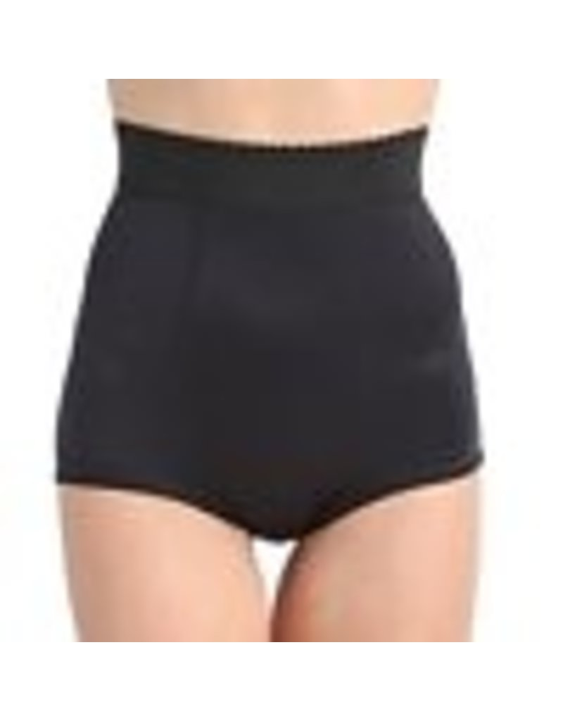 Rago 915 High Waist Padded Panty Large Black