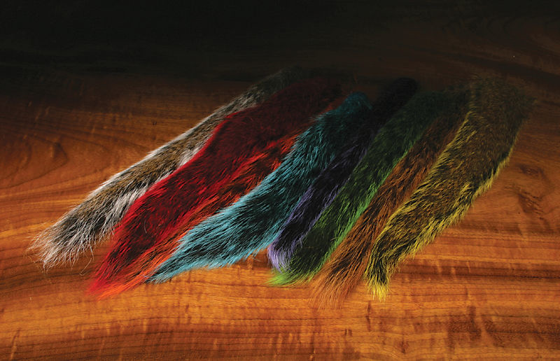 Hareline Dubbin Grey Squirrel Tail
