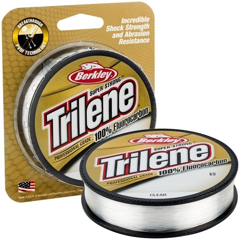 Berkley Trilene 100% Fluorocarbon- Clear