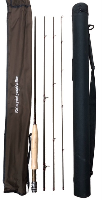 WORLD SPORTS IMPORTS Fly Rods  IM12  9'  4 Piece  Rods  Highest  Modulus Graphite