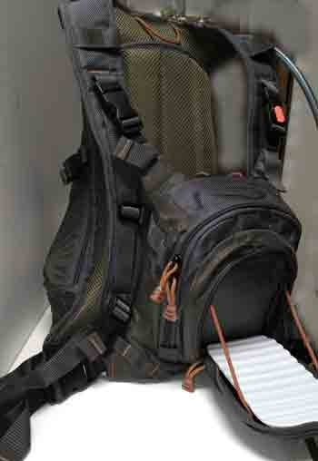 Deluxe Chest Pack  with Hydration Compartment