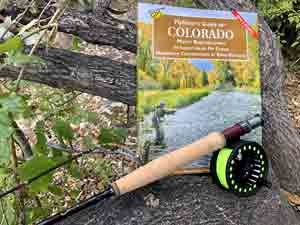"""BTI Grayling 7'9"""" 4 piece 4 weight Combo Fly Rod With SADC Reel, Line, and Case"""