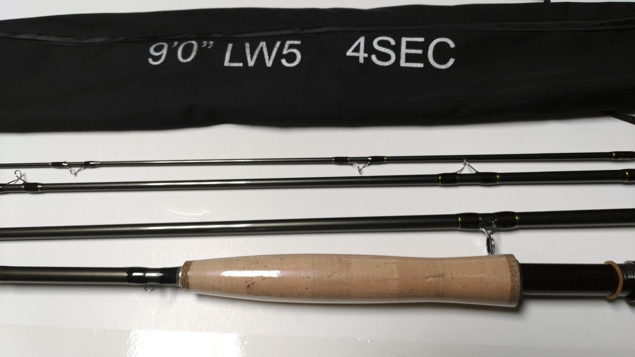 "BTI DFT 9'0"" 4wt Fly Rod Combo With SADC Reel, Line, and Case"