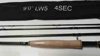 """BTI DFT 9'0"""" 5wt Fly Rod  Combo With NT Reel, Line, and Case"""