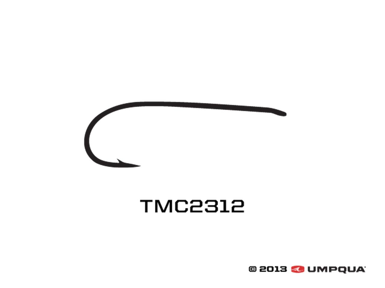 Tiemco TMC 2312 (100 PACK)
