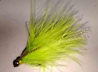 Clouser Chartreuse size 2