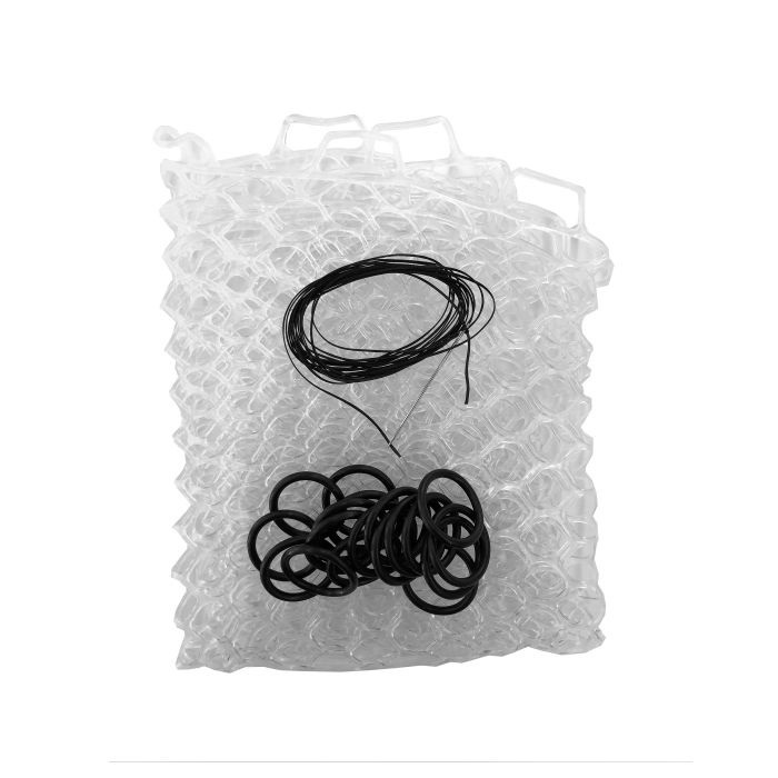 "Fishpond Nomad Replacement Rubber Net - 19"" Clear"
