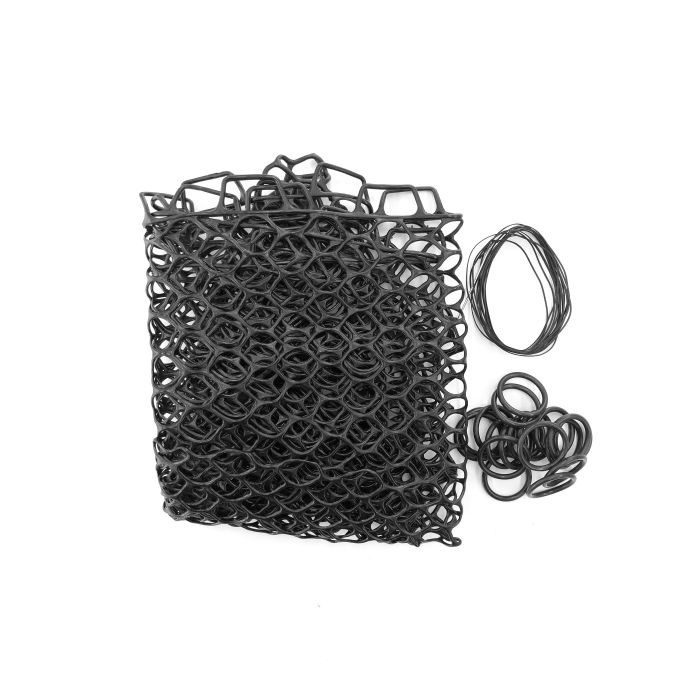 """Fishpond Fishpond Nomad Replacement Rubber Net - 19"""" Extra Deep Black"""