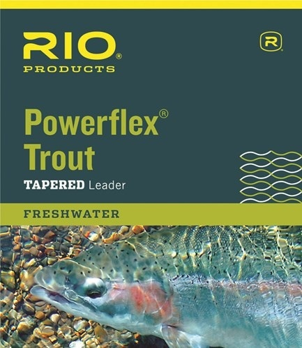 RIO Rio Powerflex Knotless 7.5Ft Leaders 3 Pack