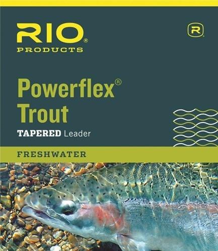 RIO Rio Powerflex Knotless 9Ft Leaders 3 Pack
