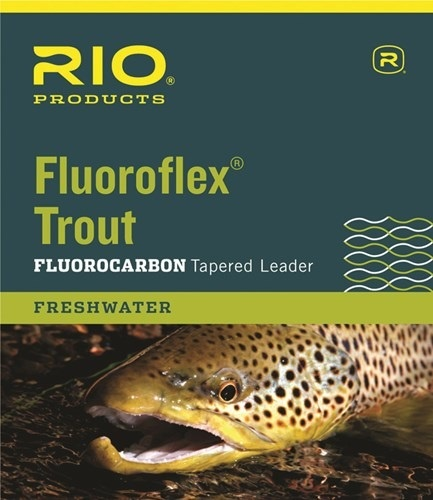 RIO Rio Fluoroflex Trout Tapered Leader 7.5'