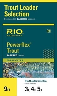 RIO RIO Trout Leader Selection 4X, 5X, 6X Combo