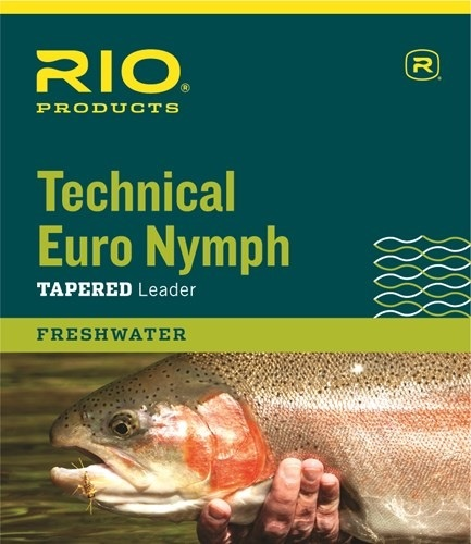 RIO Rio Technical Euro Nymph Leader w/ Indicator Tippet and Ring 14ft 2X/4X
