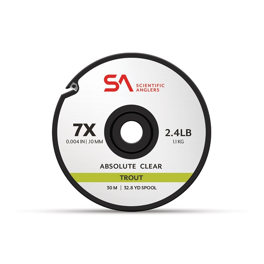 Scientific Anglers Scientific Anglers Absolute Clear Trout Tippet 32.8yd