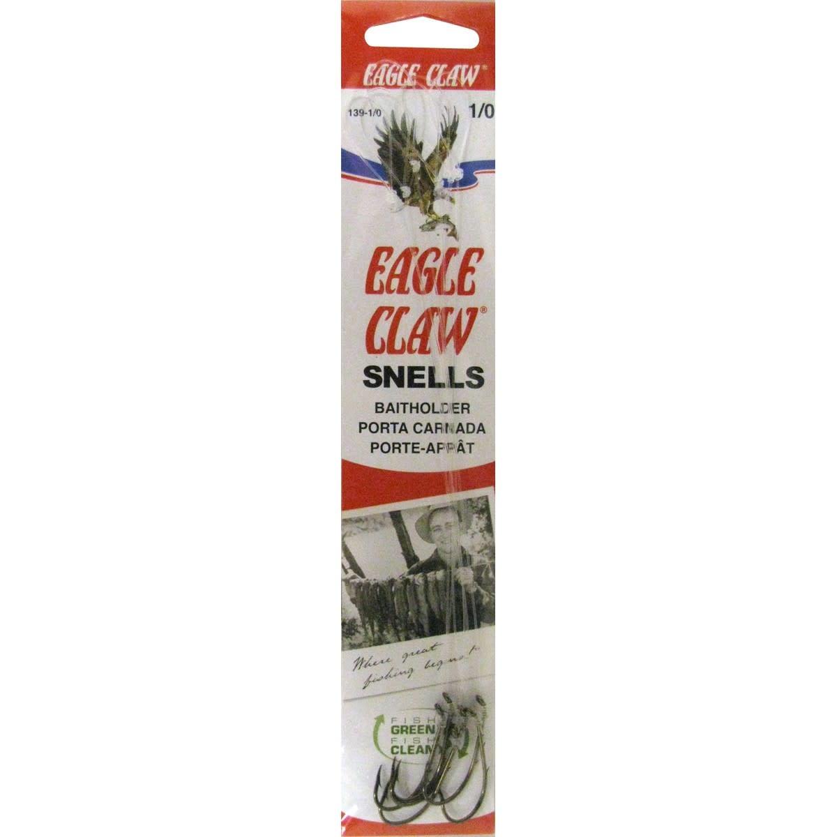 Eagle Claw Eagle Claw Snelled Baitholder Hooks
