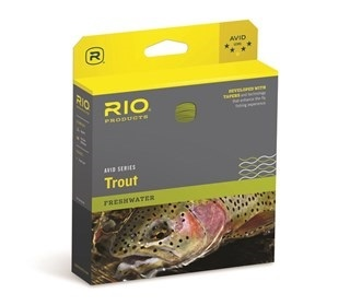 RIO Rio Avid 24ft Sinking Tip Black/Pale Yellow