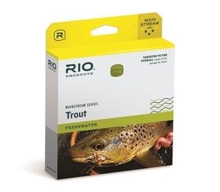 RIO Rio Mainstream Trout WF8F Lemon Green