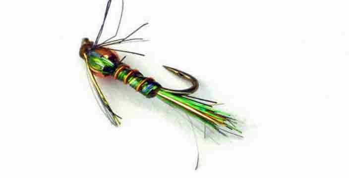 Umpqua Beaded Little Mayfly Peacock