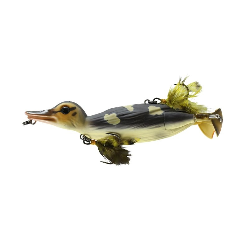 """Savage Gear Savage Gear D-110-WD 3D Topwater Suicide Duck 4 1/4"""" 1oz Wood"""