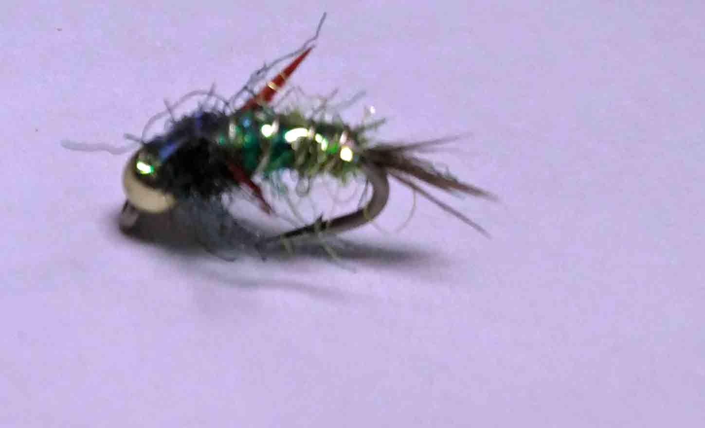 Montana Fly Dave's Evil Weevil Olive