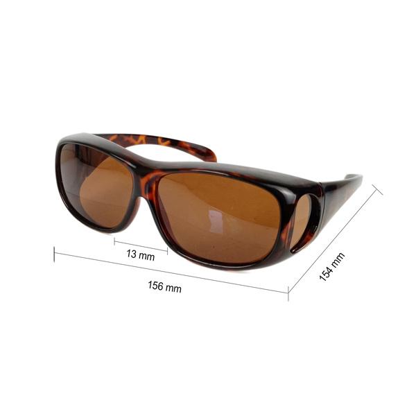 BTI Sports BTI Polarized Fit-Over Sunglasses