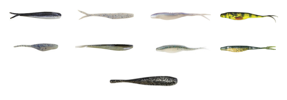 Minnow/Jerk/Fluke