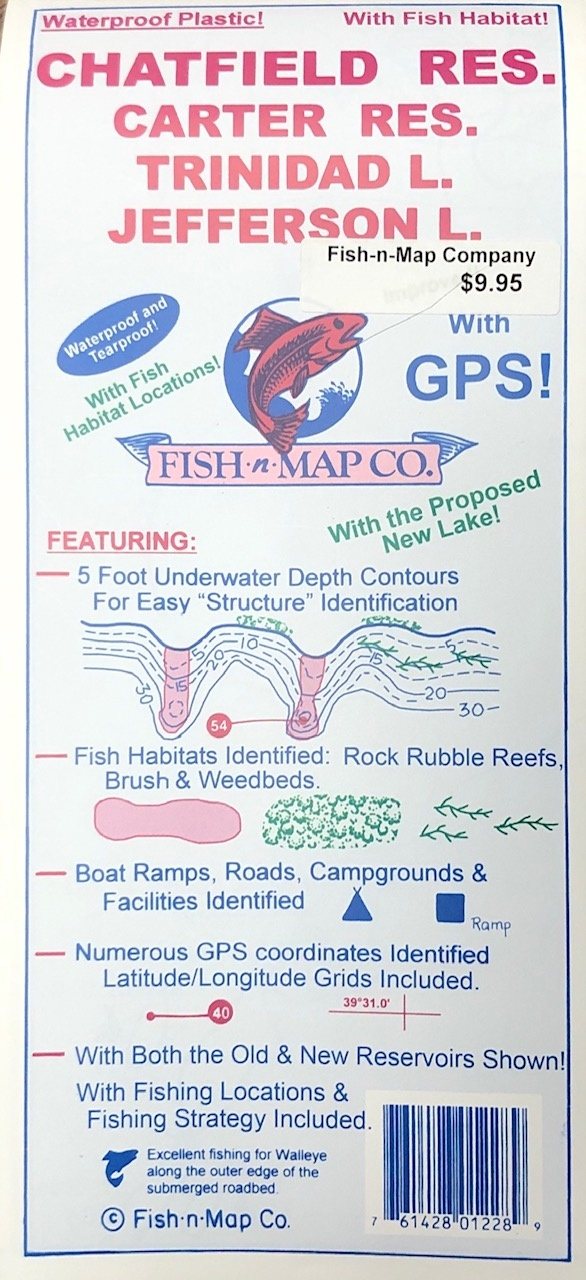 Fish n Map Fish-n-Map Company Lake Maps