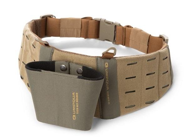 Umpqua ZS2 Wader Belt With Net Holder Olive