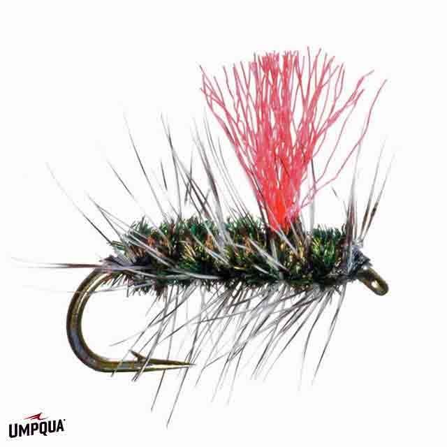 Umpqua Griffith's Gnat Hi viz Pinkwing