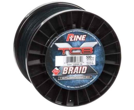 P-Line P-LINE TCB BRAID 500 YD GREEN