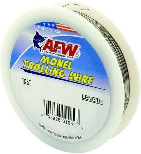 AFW AFW H030-4 Monel Trolling Wire 30Lb