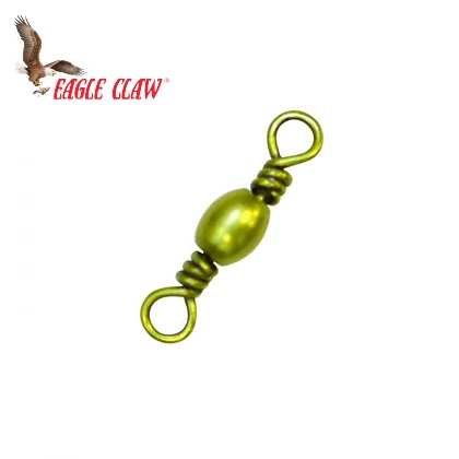 Eagle Claw Eagle Claw BARREL SWIVEL 01011-003 BRASS