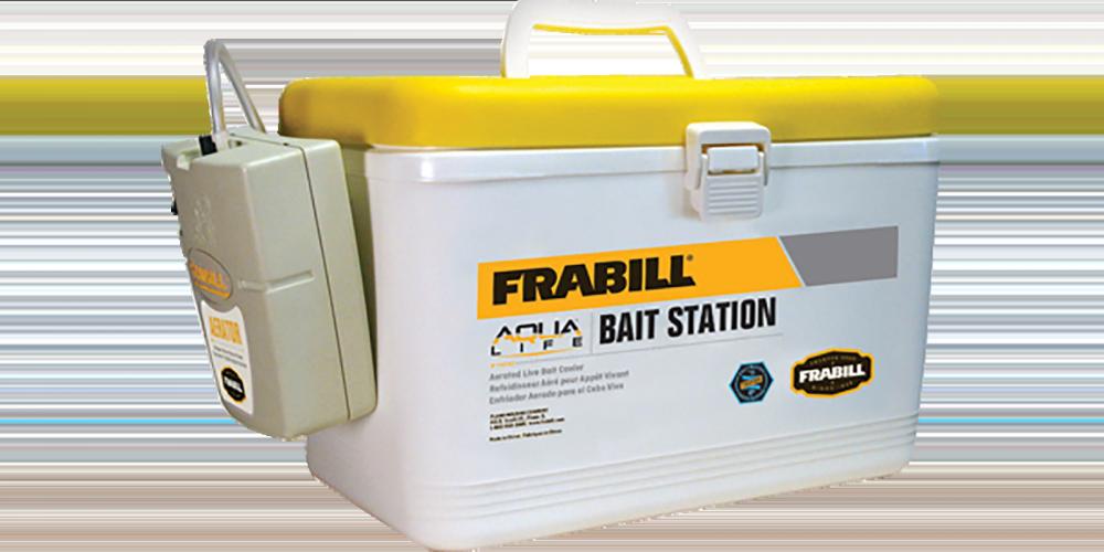 FRABILL INC. Frabill 14042 Bait Box w/Aerator 8qt